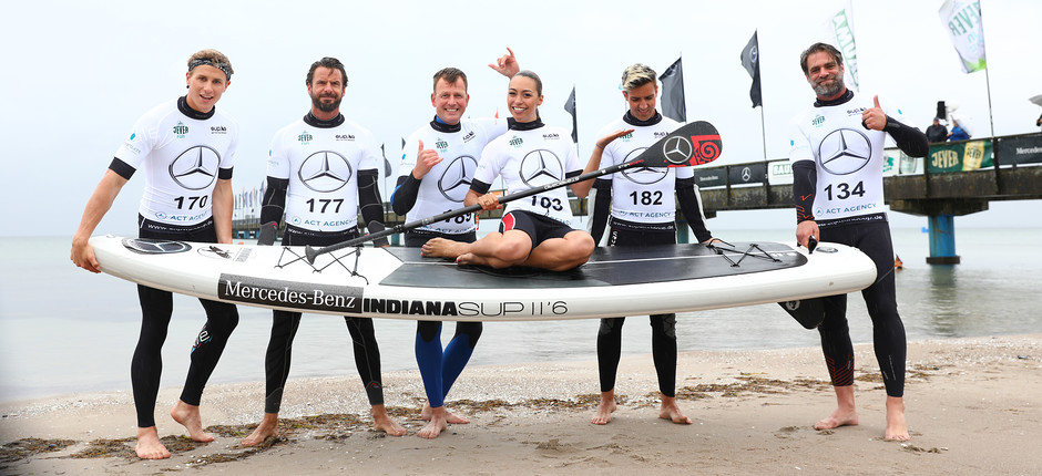 Mercedes-Benz SUP World Cup Scharbeutz 29.06. - 01.07.2018